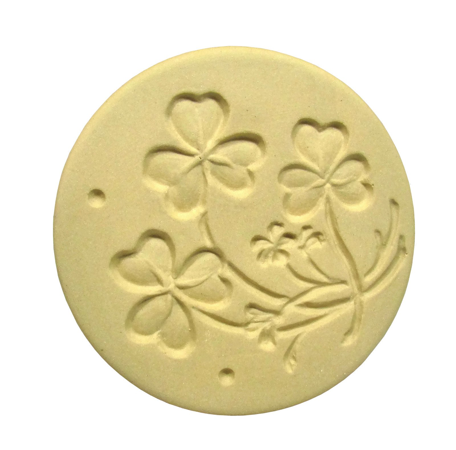 Brown Bag Shamrocks Cookie Stamp - British Isle Series