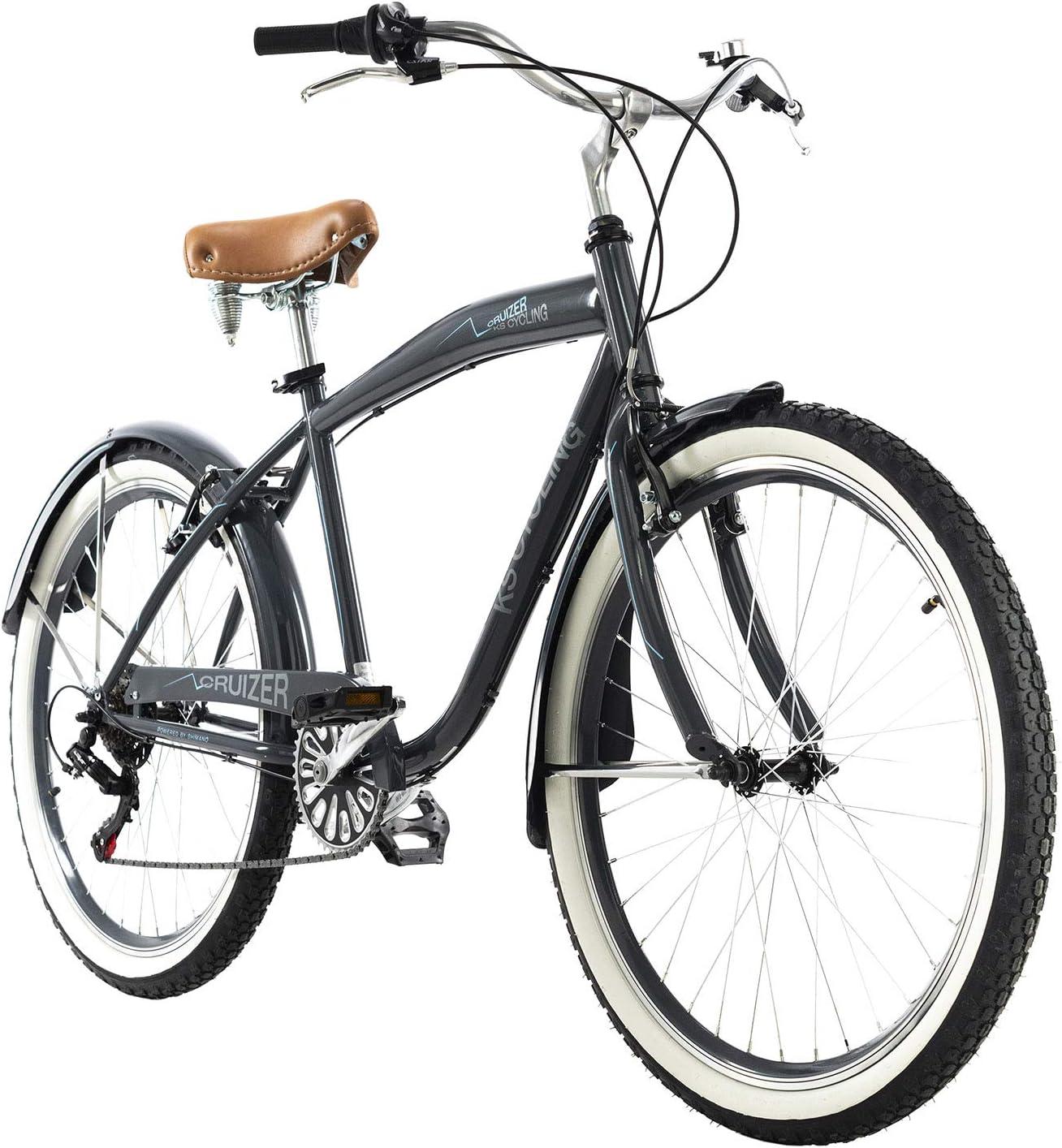 KS Cycling Beachcruiser 26 Cruizer grau RH/46/cm
