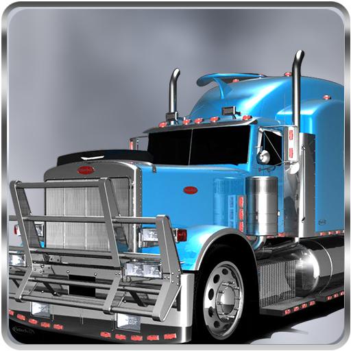 Truck Cargo Hill - Log Truck Games
