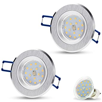 Spot LED encastrable Spots encastrés Star Mini GU10 rond (en ...