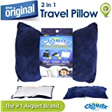 Cloudz 2 in 1 Travel Pillow - Navy