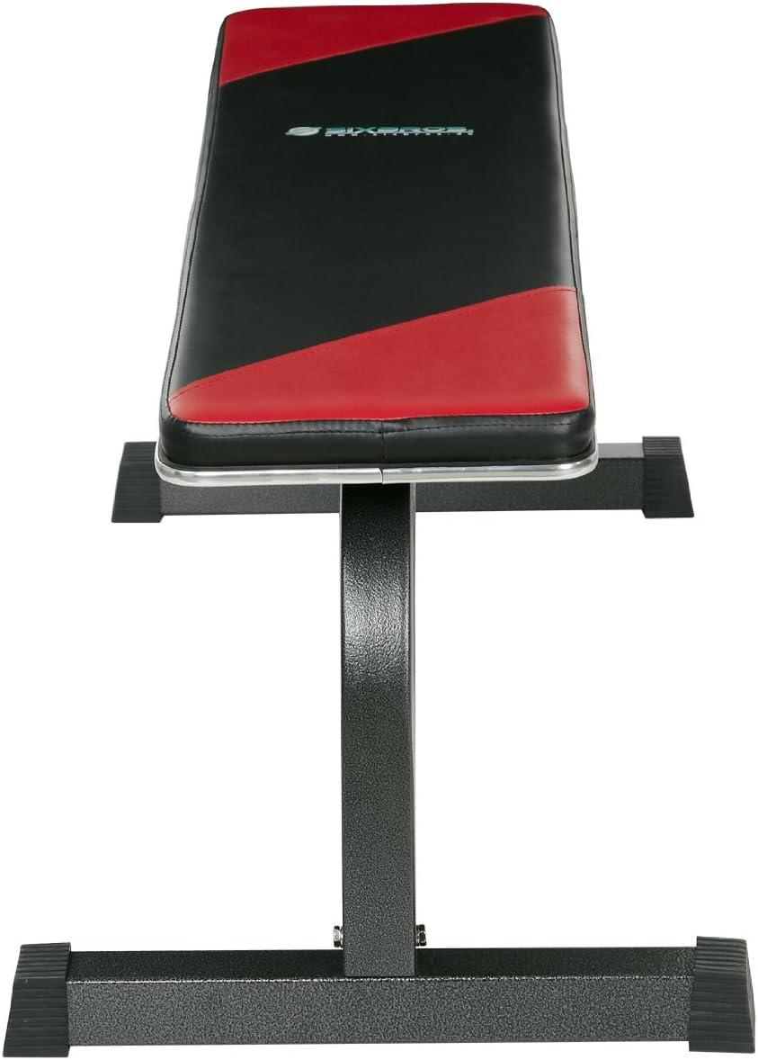SixBros 226 Banco plano para entrenamiento con pesas