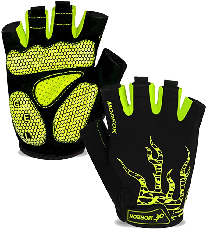 Best Cycling Gloves: MORE OK Mens Cycling Gloves
