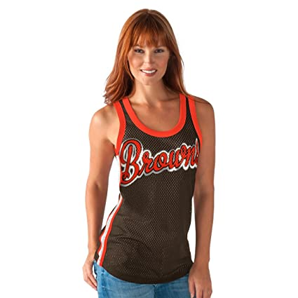 4945ae13 G-III Sports Cleveland Browns Women's Opening Day Remix Tank Top