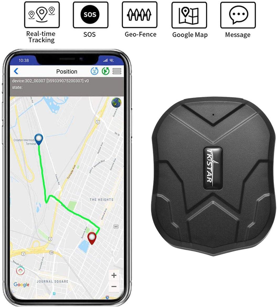 TKSTAR Mini dispositivo de seguimiento impermeable con poderoso imán GPS de larga espera localizador de seguimiento Para niños mayores mascotas coches PS110