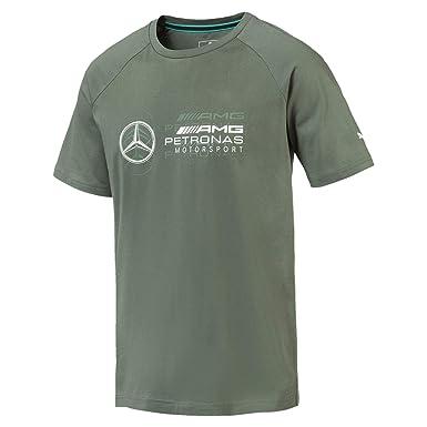62d761db44e Puma Mercedes AMG Petronas Men's Logo T-Shirt: Amazon.co.uk: Clothing