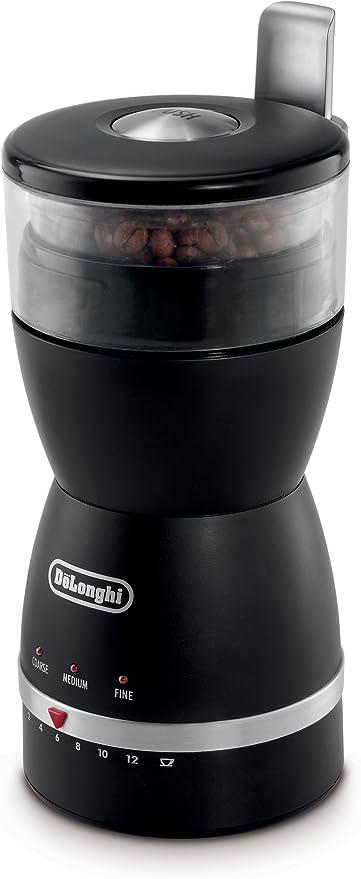 DeLonghi KG49/Electronic coffee-bean Mahlwerk mit 3/Grind Einstellungen