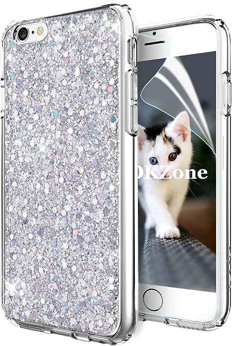 custodia iphone 6 brillantini