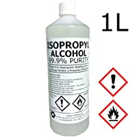 Hexeal IPA 100% | 1L | Lab Grade | Isopropyl Alcohol/Isopropanol (99%) Brand
