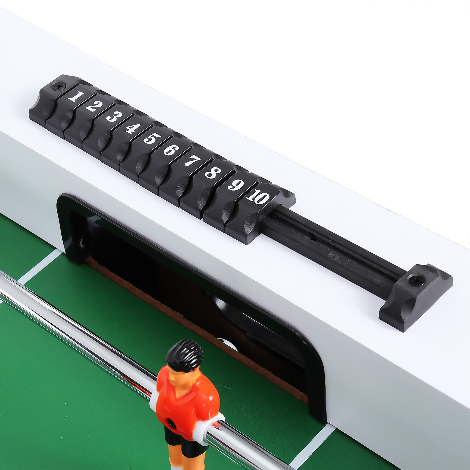 ANCHEER 48'' Foosball Table Soccer Table Arcade Game Room Football Table Sports Game for Kids& Adults- Indoor&Outdoor by ANCHEER (Image #7)