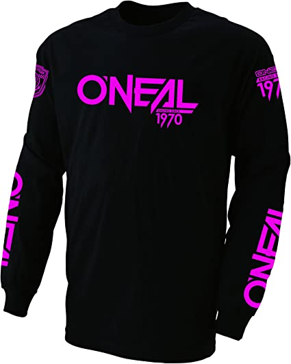 Black//Pink, XL ONeal Element Factor Womens Jersey