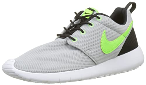 c1e07e9305e9c Nike - Roshe One GS - 599728030 - Color: Black-Celadon-Grey - Size ...