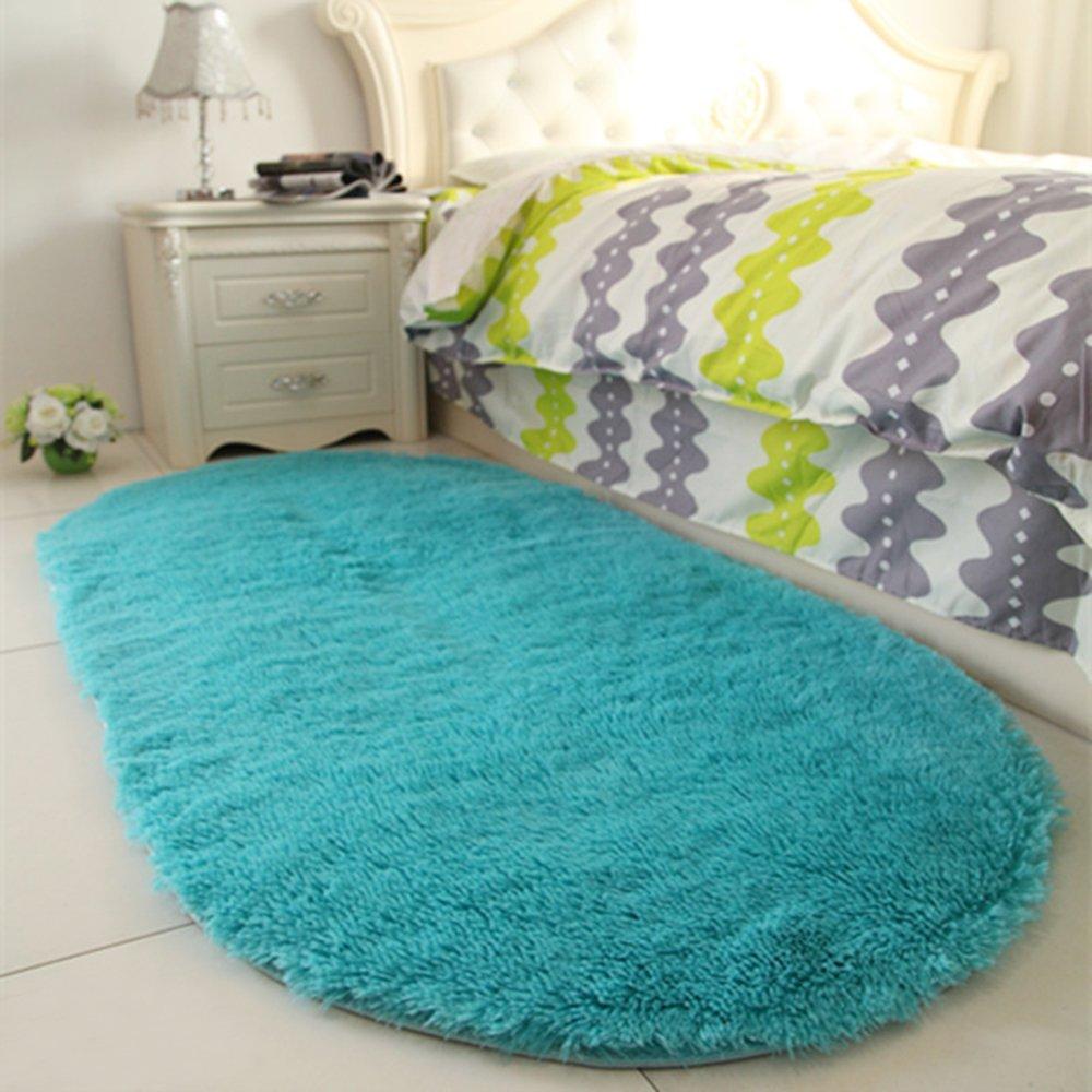 Supmaker Ultra Soft Children Rugs Room Mat Modern Shaggy Area Rugs Home Decor 2.6\' X 5.3\'