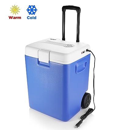 Amazon.es: BESTEK Nevera termoeléctrica portátil Coche 30 litros ...
