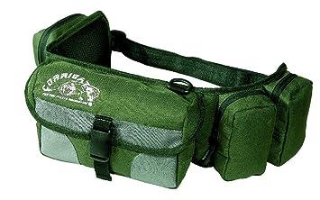 6 Fächer Bauchtasche Stylische Gürteltasche Hüfttasche Angeltasche Tasche