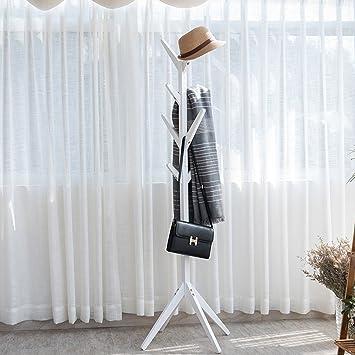 Garderobenständer Stabil tophomer garderobenständer stabil holz kleiderständer 8 kleiderhaken