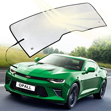 Sun Shade for 2008-2017 Dodge Challenger Coupe Custom-fit Windshield Sun Shade