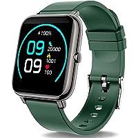Popglory Smart Watch, Fitness Tracker met Bloed Zuurstof, Bloeddruk, Hartslagmonitor, IP67 waterdichte Smartwatch…