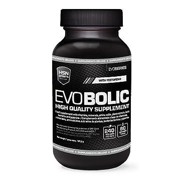 HSN Sports Evobolic Potenciador de la Producción de Testosterona Natural - 240 Capsulas: Amazon.es: Salud y cuidado personal