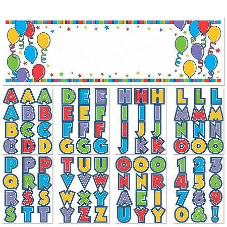 amscan International - Pancarta de cumpleaños Personalizable ...