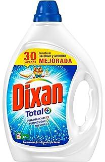 Dixan Detergente Líquido Total - 30 lavados (1,5L)