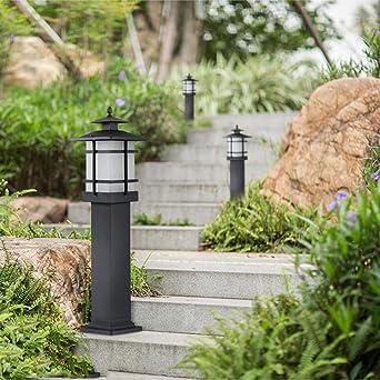 Foicags Luces LED Jardín Camino Luces Al Aire Libre A Prueba De Agua Luces Del Paisaje