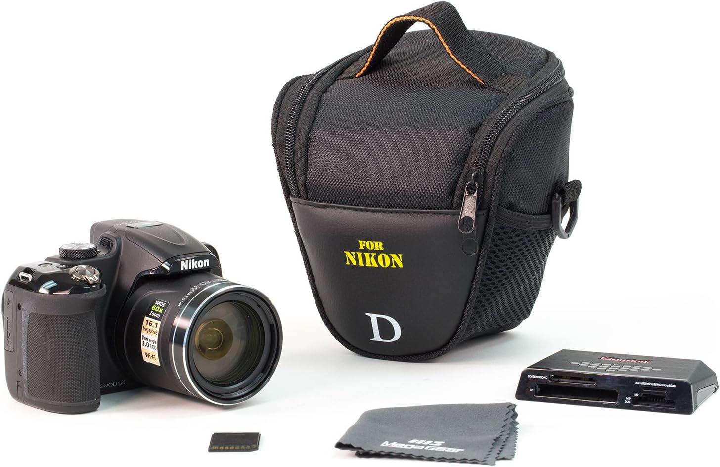 Foto-bolso adecuado para Nikon Coolpix p610 cámara-bolsa
