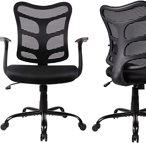 Ergonomic Office Chair Mid Back Mesh Computer Desk Swivel Task Chair
