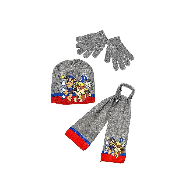 La Pat  Patrouille Echarpe, bonnet gants enfant garçon 3 coloris de 3 à 9ans d3d4b0d7b21