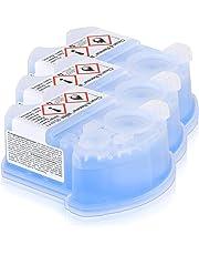 OnlineDiscountStore Braun CCR3 - Cartuchos de limpieza para maquinilla de afeitar, 3 unidades