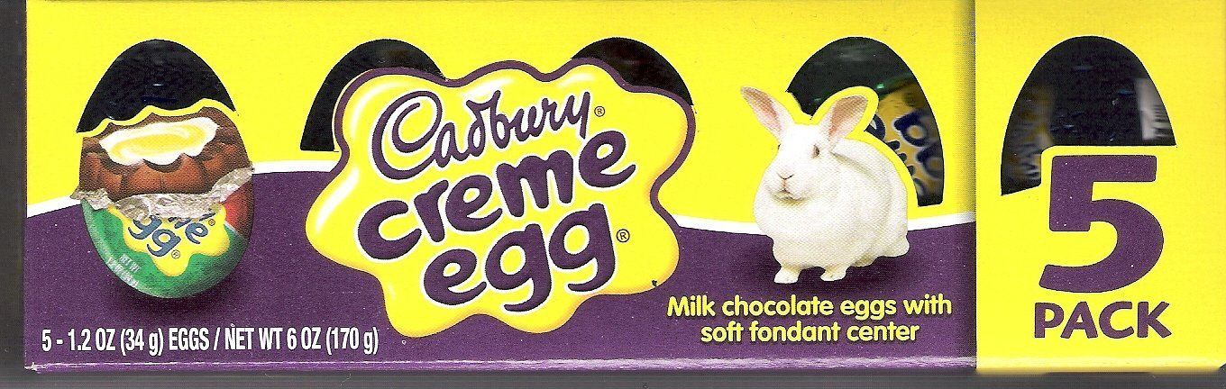 Cadbury Creme Eggs 5-pack
