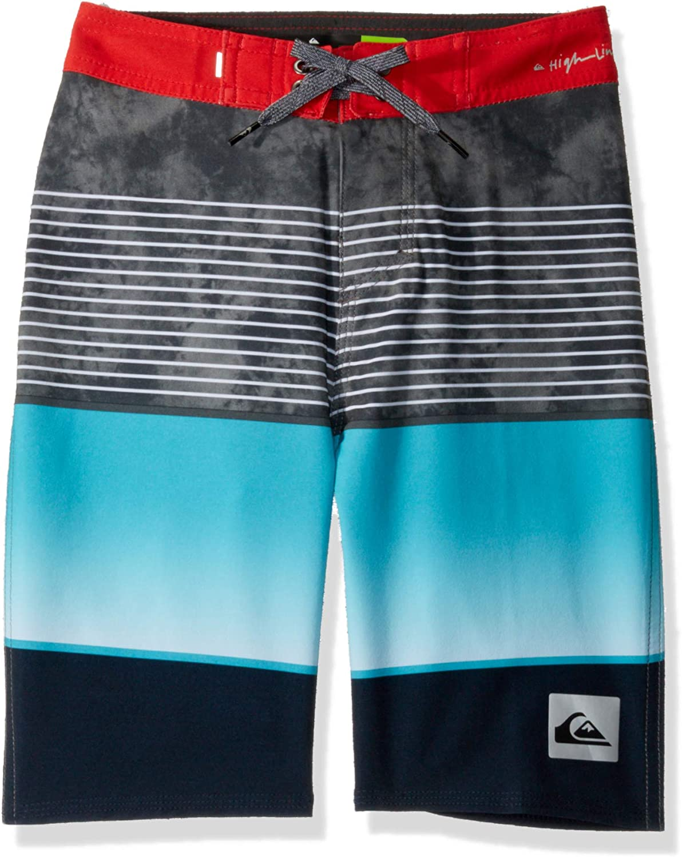 Quiksilver Boys Little Highline Paradise 14 Boardshort Swim Trunk