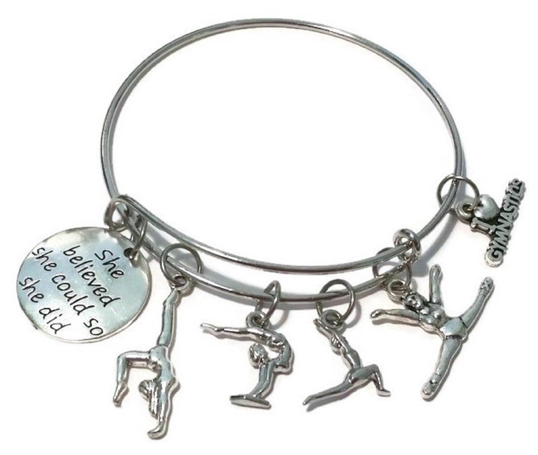 Kits Kiss Gymnastics Earrings Gymnastics Jewelry Girls Earrings