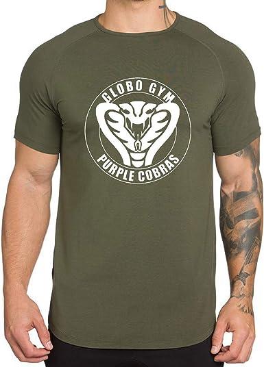 Men T-Shirt Tights Tops 3D Printed Punisher Skull Short Sleeve Gym Fitness Tee