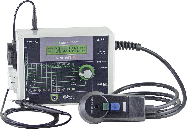 GMC-I innovantes Testeur minitest Pro 0701 m712d Appareil