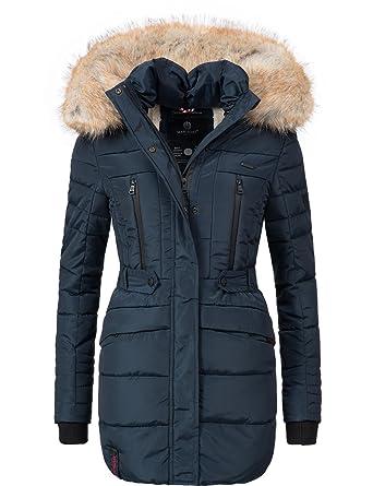 Amazon de damen winter mantel