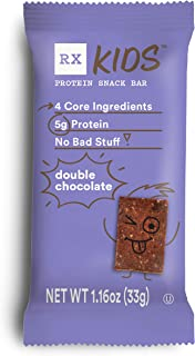 product image for RXBAR, RX Kids Protein Snack Bar, Double Chocolate, 1.16oz Bars, 30ct, New Taste and Texture