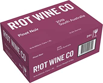 Riot Wine Co Pinot Noir 2019 24 x 250mL