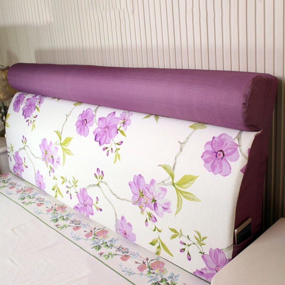 Removable bed on the back of the bag / bedside back pad / solid wood bed soft bag / ( Size : 19060cm )