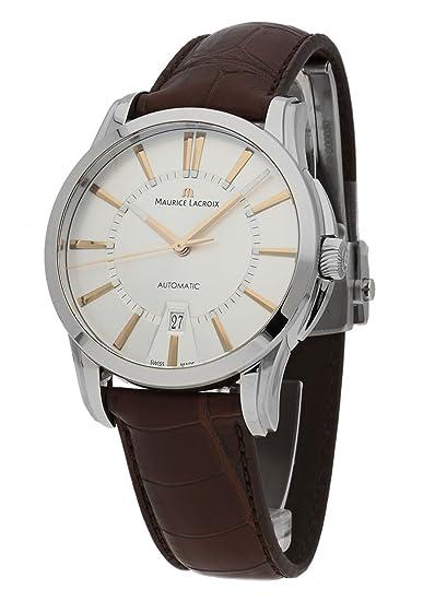 Maurice Lacroix Pontos - Reloj de pulsera Fecha Automático pt6148 de SS001 - 131 - 2: Amazon.es: Relojes