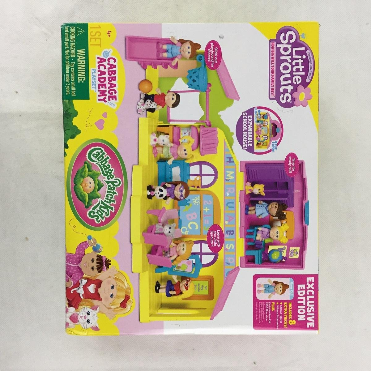 Cabbage Patch Kids Little Sprouts Cabbage Academyボーナスセット B077X7XZNX