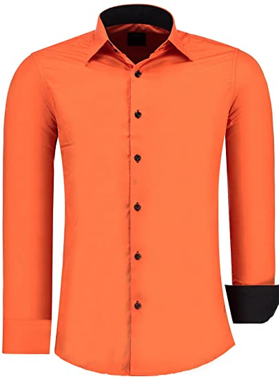 Uomo Arancione Amazon Amazon Camicie Camicie Arancione Uomo Camicie Uomo MqVUpSz