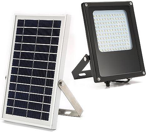 Amazon.com: JPLSK - Luz LED solar para inundación, 120 ledes ...