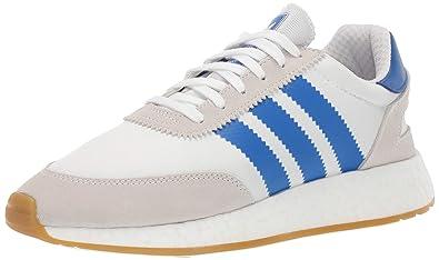 adidas Originals Men's I 5923 Shoe, WhiteBlueGum, 13.5 M US