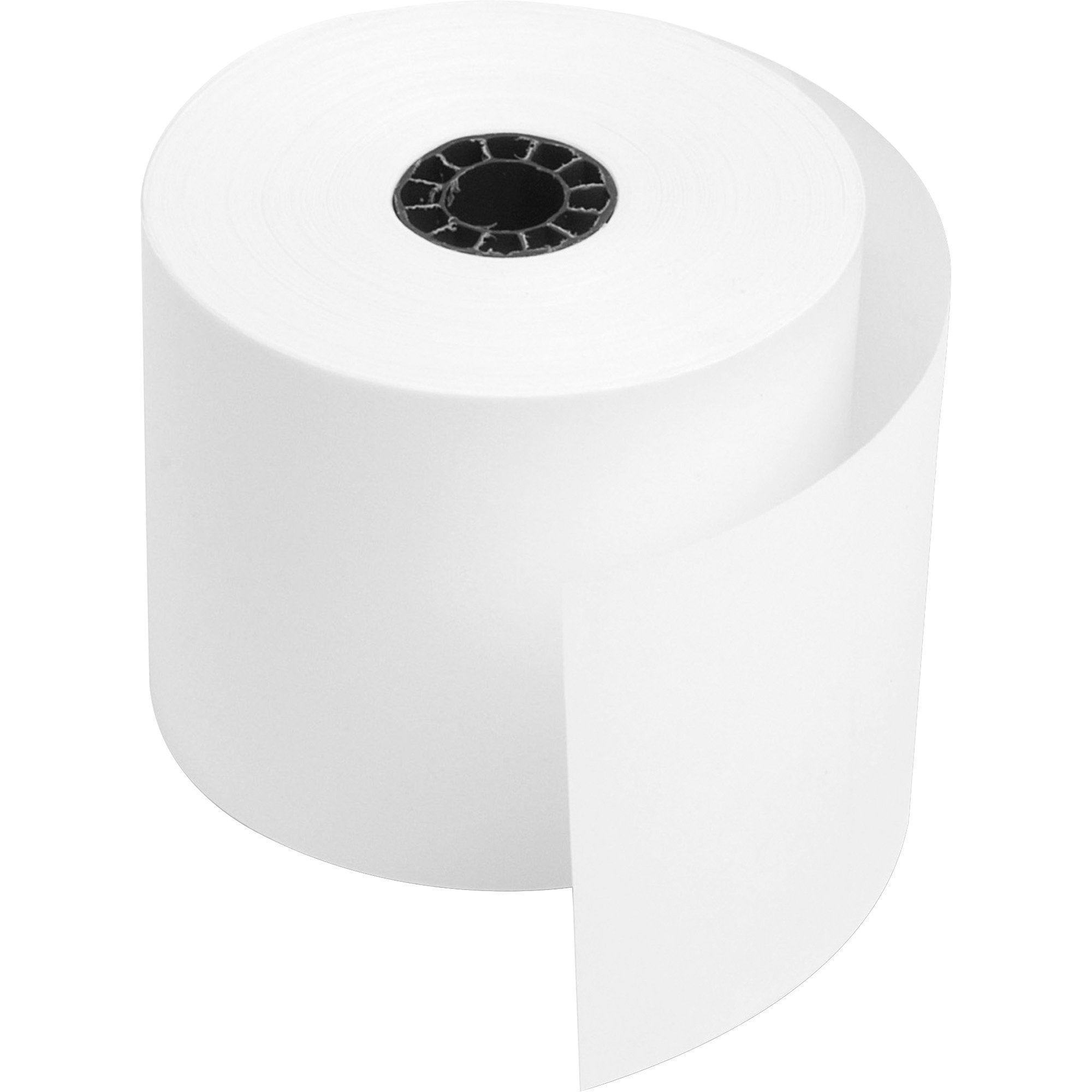 PM Company Perfection One Ply Light Weight Bond Paper Rolls, 2.25'' x 200 Feet, 5 Rolls Per Pack (08811)