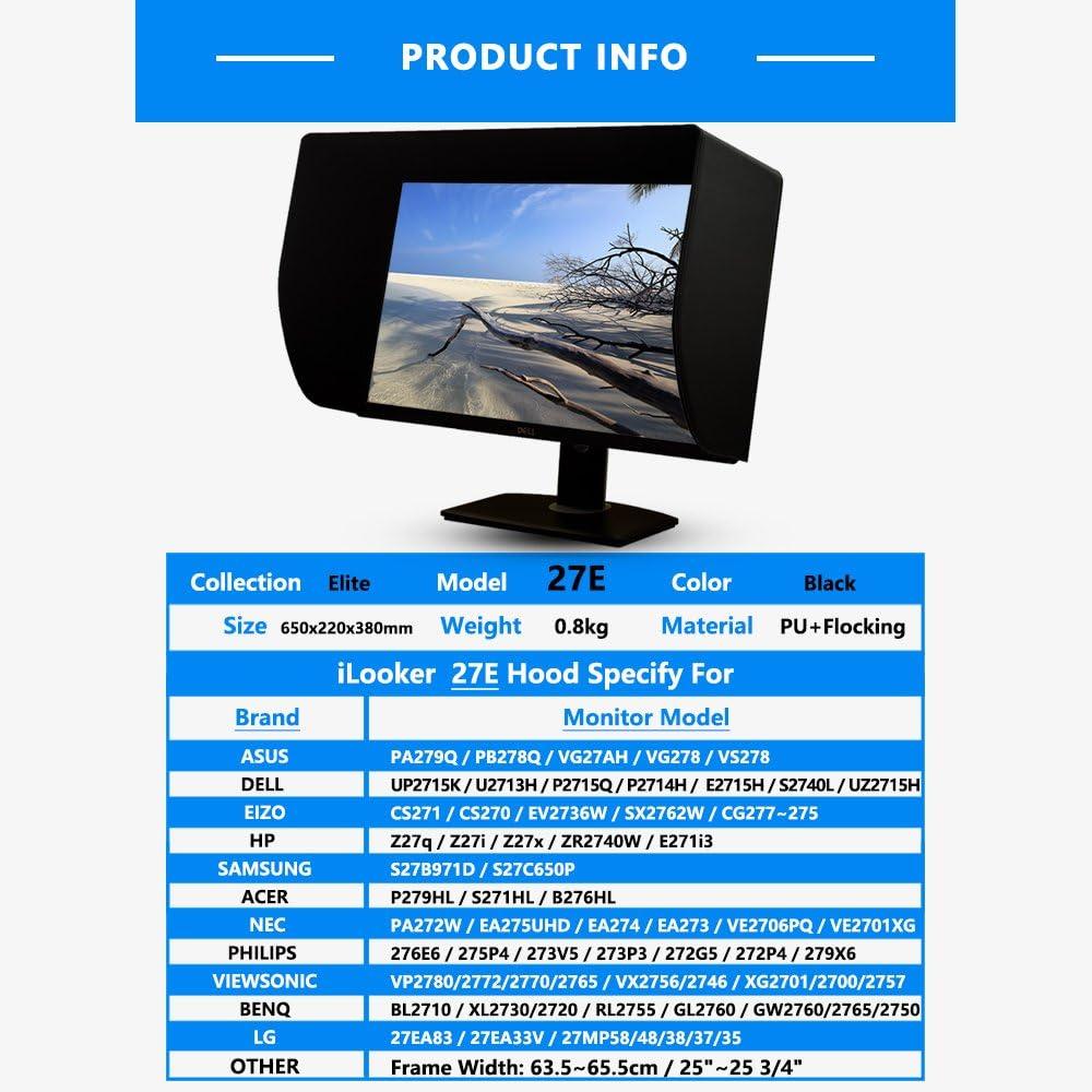 Ilooker 27e 27 Zentimeter Lcd Led Video Monitor Hood Computer Zubehör