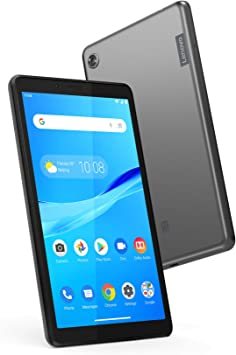 Amazon Com Lenovo Tab M7 7 Android Tablet Quad Core Processor 1 3ghz 16gb Storage Bluetooth Wifi 10 Hour Battery Android 9 Pie Go Za55012us Onyx Black Computers Accessories