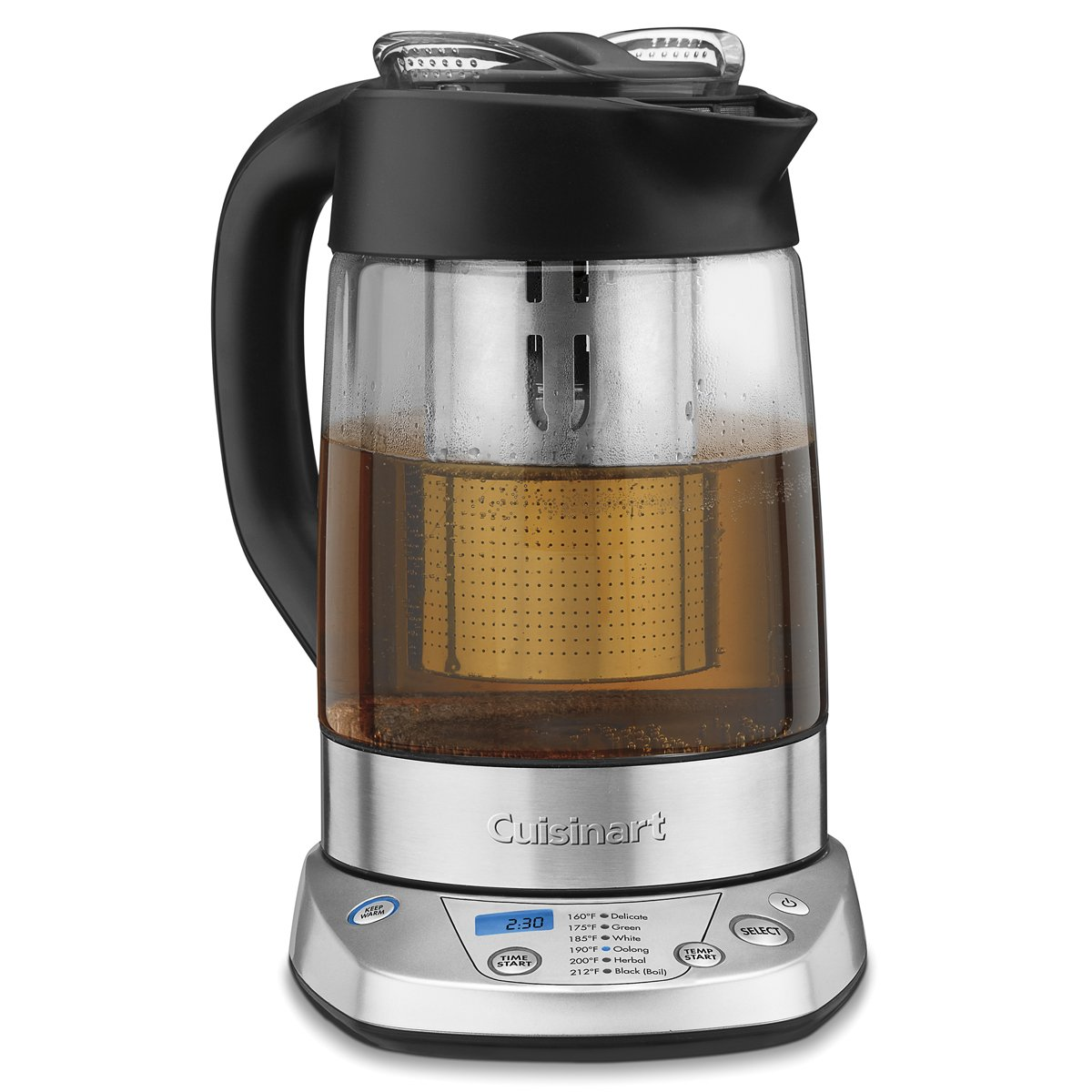 Cuisinart TEA-100 PerfecTemp Programmable Tea Steeper and Kettle