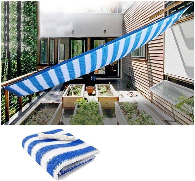 Tela de Sombra Red de Protección Sombra 3x5m 80% Bloqueador Tela Al Aire Libre De La Sombra del Bloqueador Solar, for Redes de Sombra del Invernadero Balcón Patio Pérgola Césped Jardín Toldos: