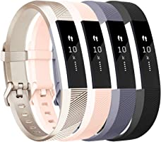 Tobfit for Fitbit Alta HR Bands/Fitbit Alta Band Large Small Straps Varied Colors and Editions for Fitbit Alta HR Fitbit...